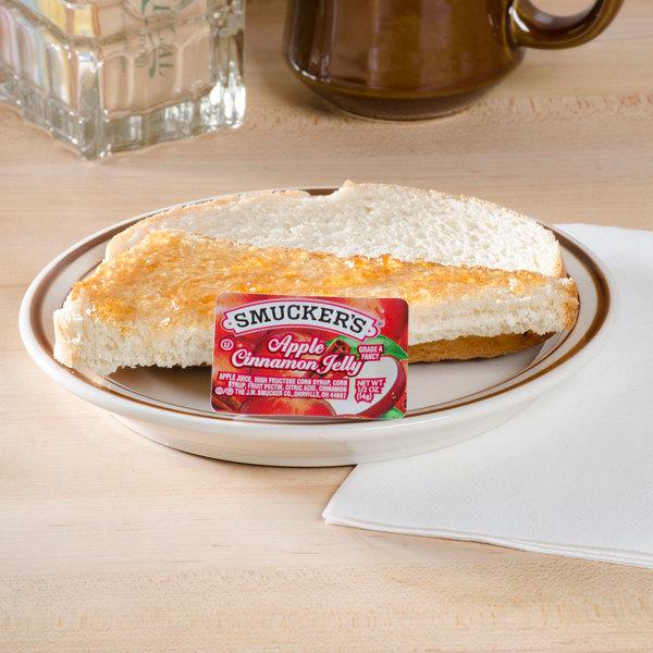 Smucker's Apple Cinnamon Jelly .5 oz. Portion Cups - 200/Case