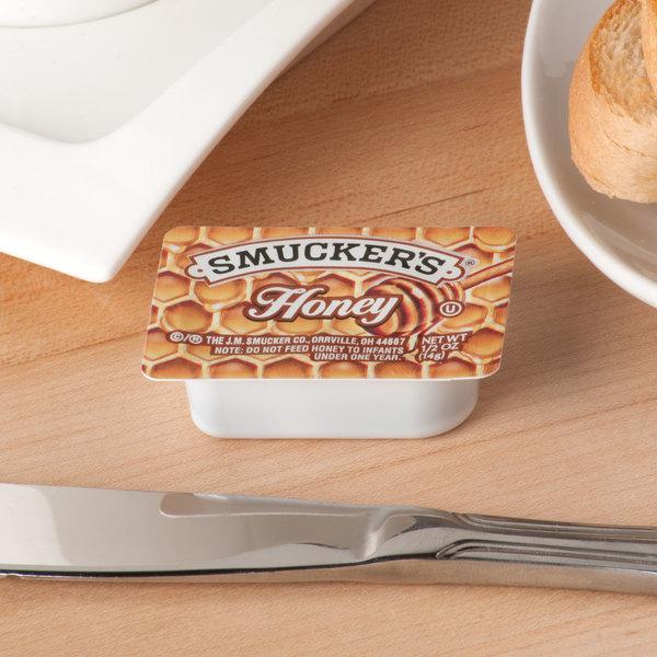 Smucker's Honey .5 oz. Portion Cups - 200/Case