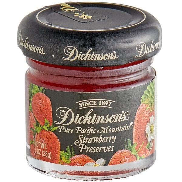 Crosse & Blackwell 1 oz. Strawberry Balsamic Fruit Spread - 72/Case