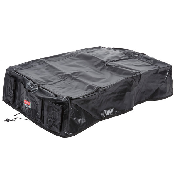 Rubbermaid 1889864 Large Black Cover for 8 Bushel Collapsible X-Carts Main Image 1