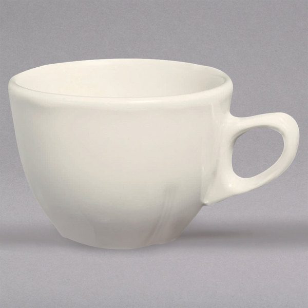 Homer Laughlin 50800 Carolyn 725 Oz Ivory American White Cup