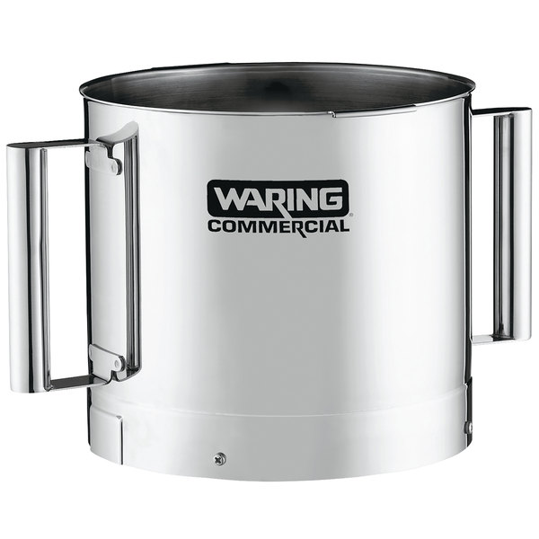 Waring FP40SSB 4 Qt. Stainless Steel Batch Bowl