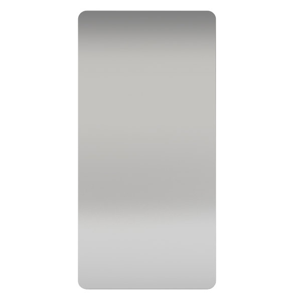 Excel 89S XLERATOR® Stainless Steel Anti-Microbial Wall Guard for Hand Dryers - 2/Pack