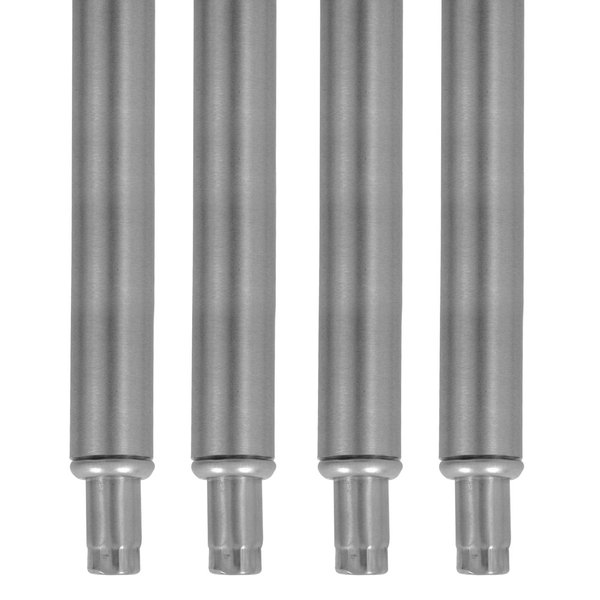 Advance Tabco FE-SS-12 Stainless Steel Leg - 4/Set