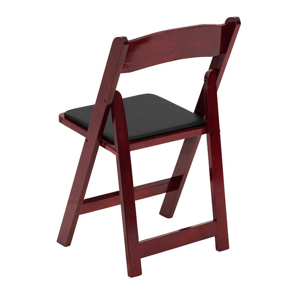 Wood Folding Chair with  Main Picture   Image Preview   Image Preview   Flash Furniture XF 2903 MAH WOOD GG Mahogany Wood Folding Chair  . Padded Folding Chairs Wood. Home Design Ideas
