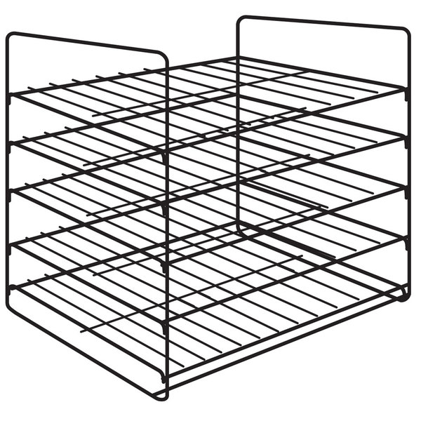 Hatco FSD5SMP 5-Shelf Multi-Purpose Display Rack for FSD Holding and Display Cabinets Main Image 1