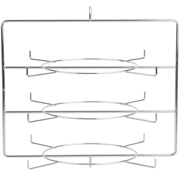 Hatco FSD3TCR 3 Tier Pizza Rack for Heated Merchandisers