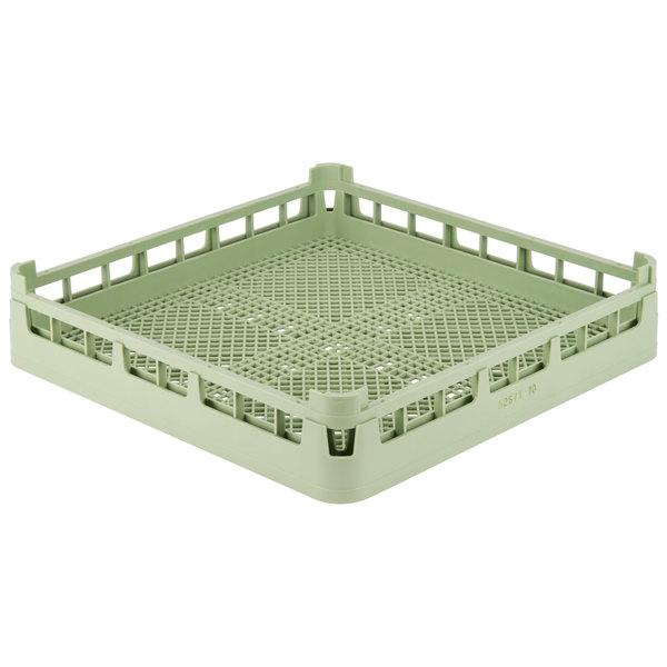 Vollrath 52671 Signature Full-Size Light Green Flatware Rack Main Image 1