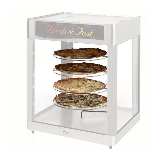 Hatco FSDT5TCR 5-Tier Circle Rack With Pizza Pan Retainers for FSDT Holding and Display Cabinets Main Image 1