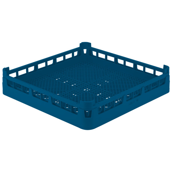 Vollrath 52671 Signature Full-Size Royal Blue Flatware Rack Main Image 1