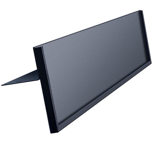 Hatco MER. DISPLAY Black Metal Sign Holder for FSDT Display Cabinets