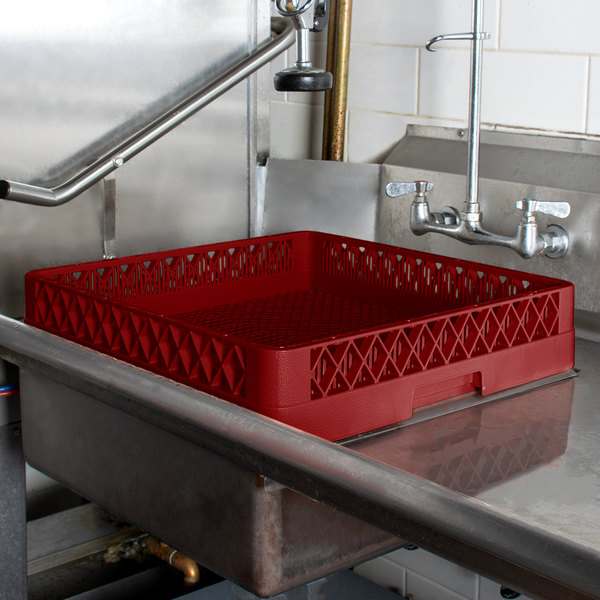 Vollrath TR2 Traex® Full-Size Red Flatware Rack