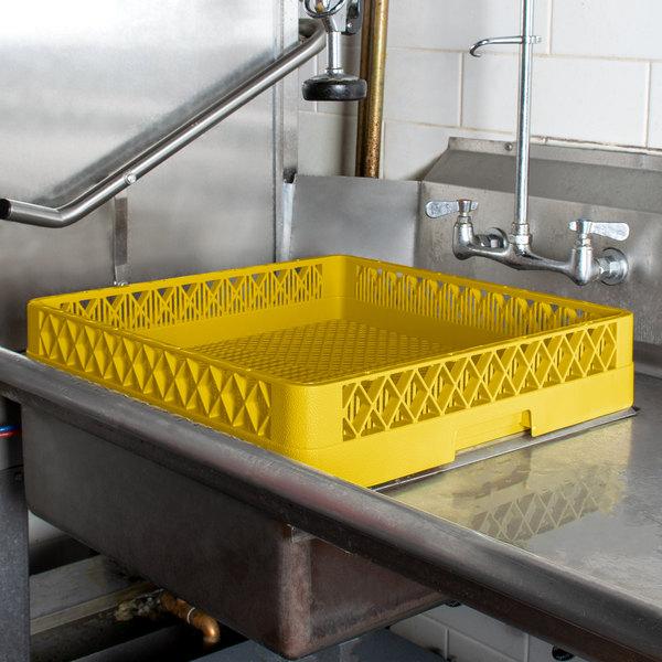 Vollrath TR2 Traex® Full-Size Yellow Flatware Rack