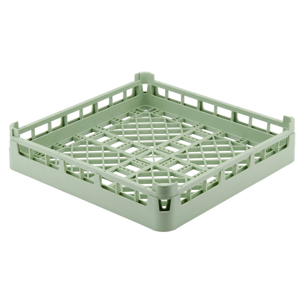 "Vollrath 52670 Signature Full-Size Light Green 4 1/8"" Open Rack"