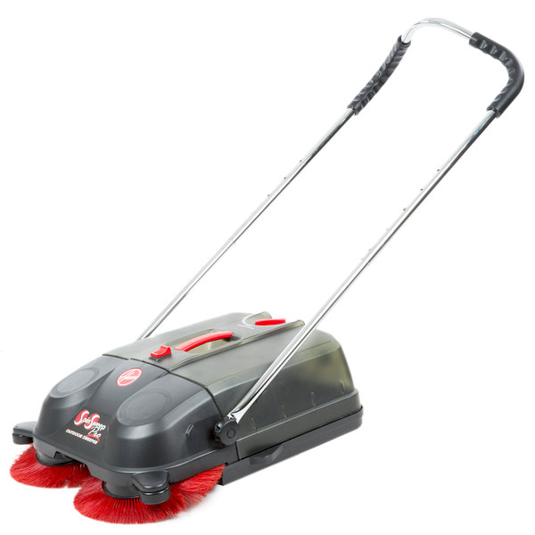 """Hoover L1405 18"""" Brush SpinSweep Pro Cordless Commercial Outdoor Sweeper"""