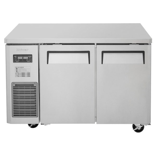 "Turbo Air JURF-48-N 47 1/4"" Dual Temperature Undercounter Refrigerator / Freezer - 9.07 Cu. Ft."