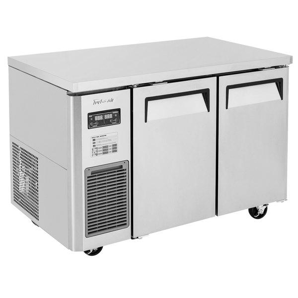 "Turbo Air JURF-48-N 47 1/4"" Dual Temperature Undercounter Refrigerator / Freezer - 9.07 Cu. Ft. Main Image 1"