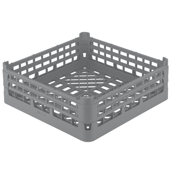 "Vollrath 52682 Signature Full-Size Gray 8 3/16"" X-Tall Open Rack"