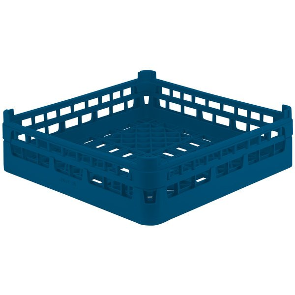 "Vollrath 52680 Signature Full-Size Royal Blue 5 1/2"" Medium Open Rack"