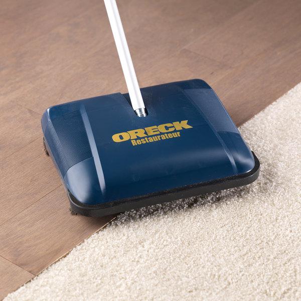 """Oreck PR3200 12 1/2"""" Brushless Blade Restaurateur Wet / Dry Floor Sweeper"""
