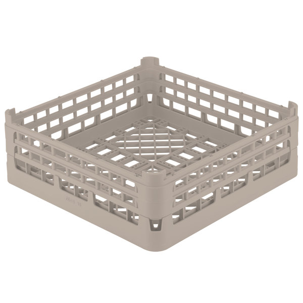 "Vollrath 52681 Signature Full-Size Cocoa 6 7/8"" Tall Open Rack"