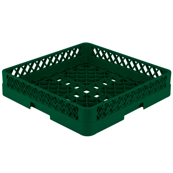 "Vollrath TR1 Traex® Full-Size Green 4"" Open Rack"