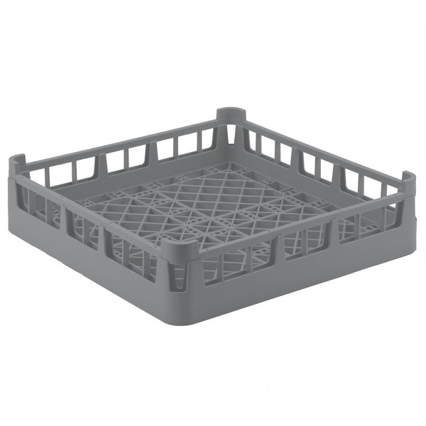 "Vollrath 52696 Signature Full-Size Gray 4 7/8"" Short Extended Open Rack Main Image 1"