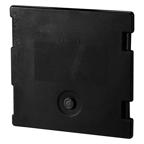 Cambro 6318110 Black Camcarrier Replacement Door with Gasket and Vent Cap Main Image 1