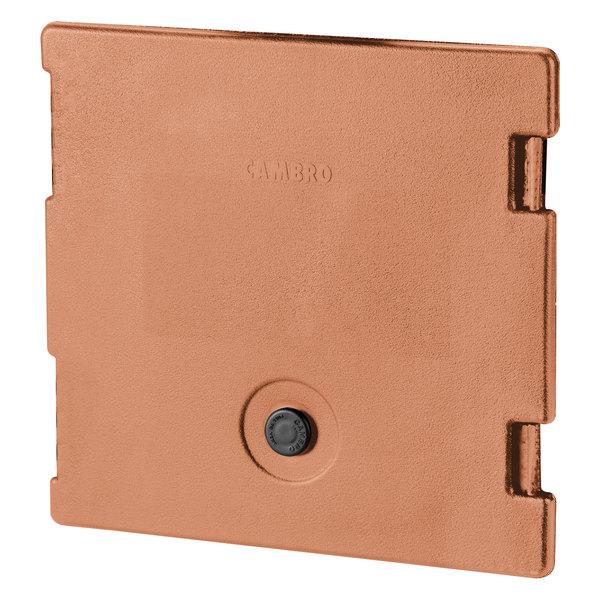 Cambro 6318157 Coffee Beige Camcarrier Replacement Door with Gasket and Vent Cap