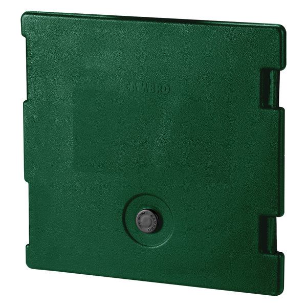 Cambro 6318519 Green Camcarrier Replacement Door with Gasket and Vent Cap