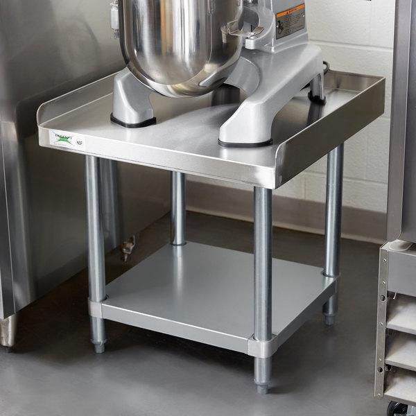 Regency 24 Quot X 24 Quot 16 Gauge Stainless Steel Equipment Stand