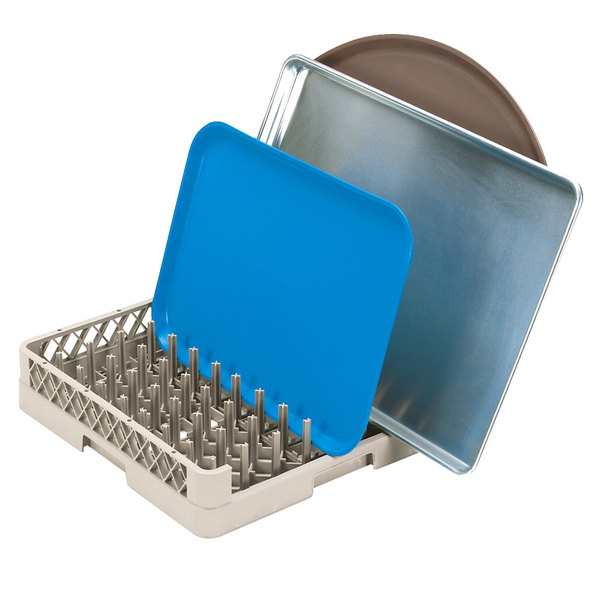 Vollrath TR30 Traex® Beige Full Size Tray and Pan Rack