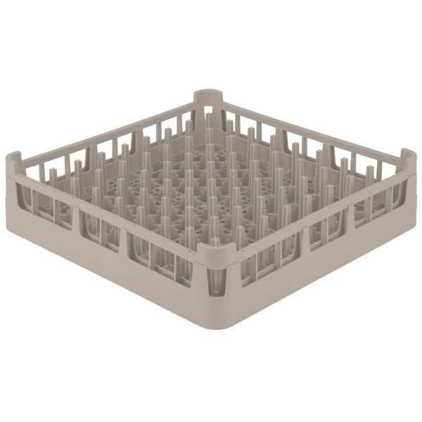 Vollrath 52695 Beige Signature Full-Size Extended Plate Rack Main Image 1