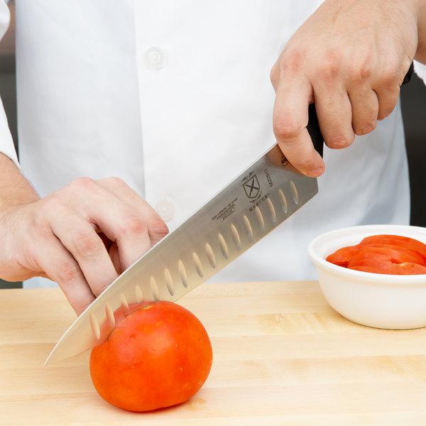 "Mercer Culinary M22611 Millennia 10"" Chef Knife with Granton Edge"