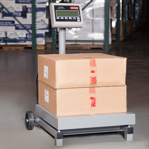 Tor Rey FS-250/500 500 lb. Digital Receiving Scale with Tower Display, Legal for Trade Main Image 12