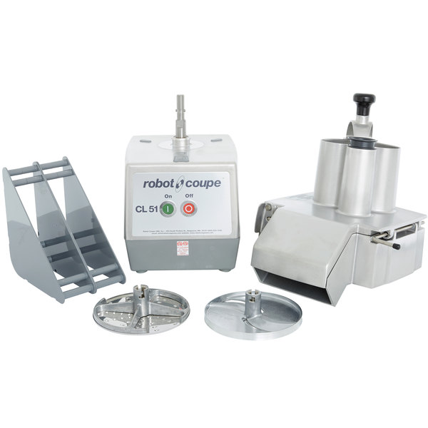 Robot coupe cl51 continuous feed food processor 1 1 2 hp - Julienne blade food processor ...