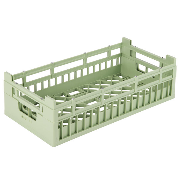 "Vollrath 52801 Signature Half-Size Light Green 5 9/16"" Medium Open Rack"