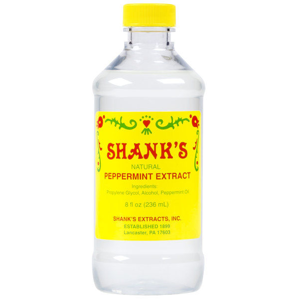 Shank's 8 oz. Pure Peppermint Extract