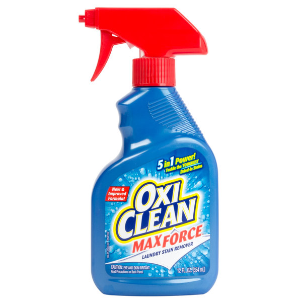 Oxiclean 12 Oz Max Force Stain Remover Spray