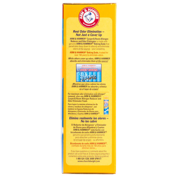 Arm Hammer 42 6 Oz Carpet Room Allergen Reducer And Odor Eliminator