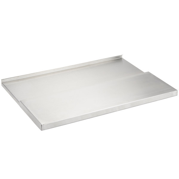 "Regency 18"" x 24"" Stainless Steel Underbar Ice Bin Sliding Lid"
