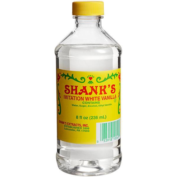 Shank's 8 oz. White Vanilla (Imitation)