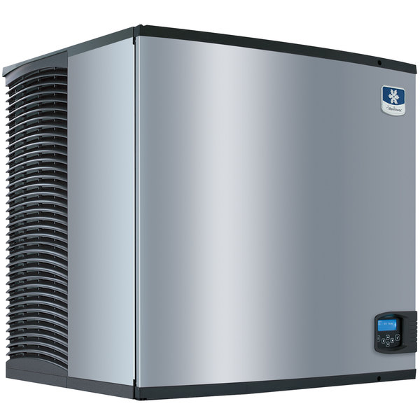 "Manitowoc IY-1106A Indigo Series 30"" Air Cooled Half Size Cube Ice Machine - 208V, 1 Phase, 1200 lb."