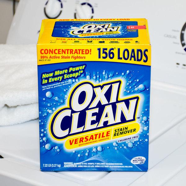 OxiClean 7.22 lb. / 115.52 oz. Versatile Stain Remover - 4/Case Main Image 5