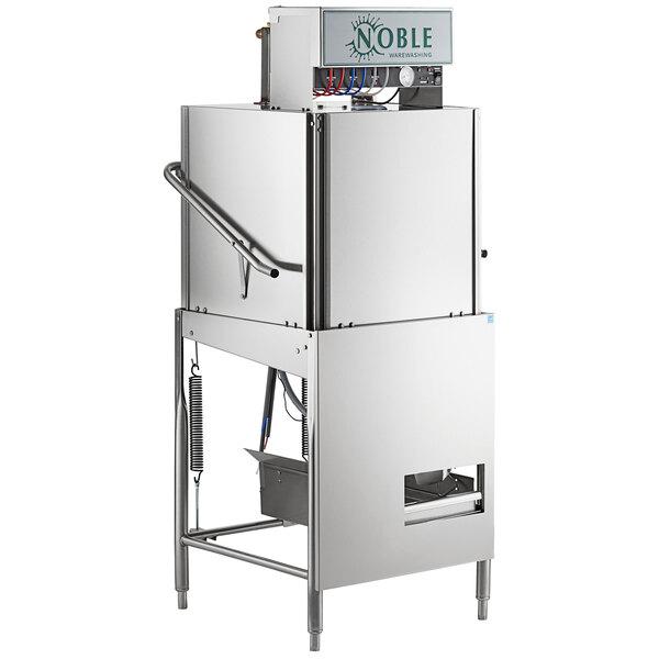 Noble Warewashing I-E Single Rack Low Temperature Door-Type Dish Machine - 115V