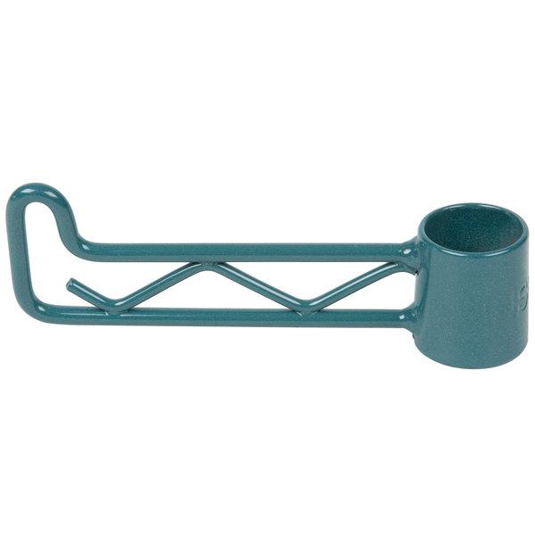 """Regency Green Epoxy Swing Hook - 6 1/4"""""""