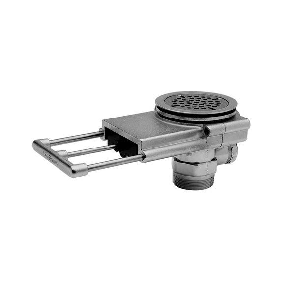 "T&S B-3990 Modular Pull Waste Valve - 3 1/2"" Sink Opening Main Image 1"