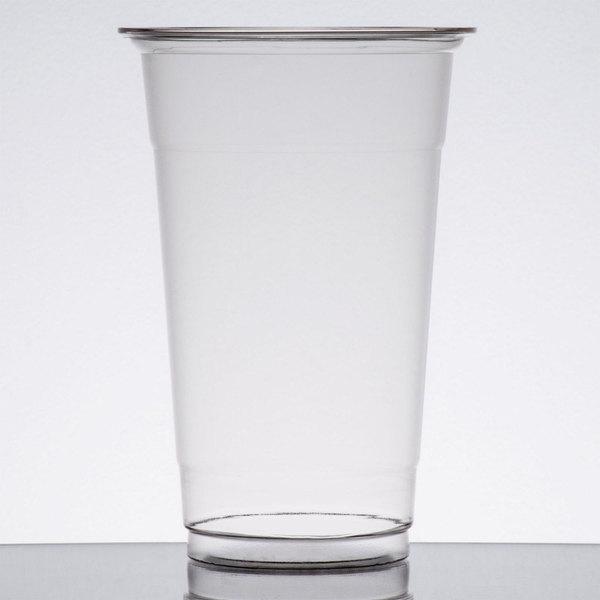 Choice 20 oz. Clear PET Plastic Cold Cup - 600/Case