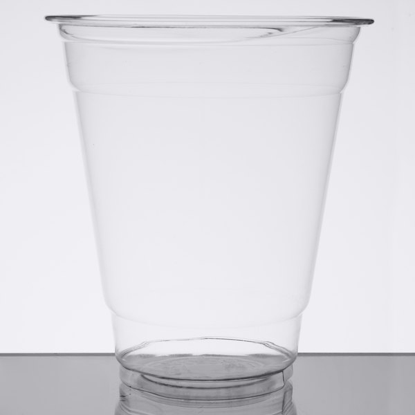 Choice 12 oz  Clear Plastic Cold Cup - 1000/Case