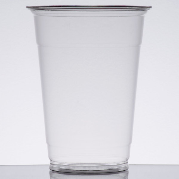 Choice 16 oz. Clear PET Plastic Cold Cup - 1000/Case